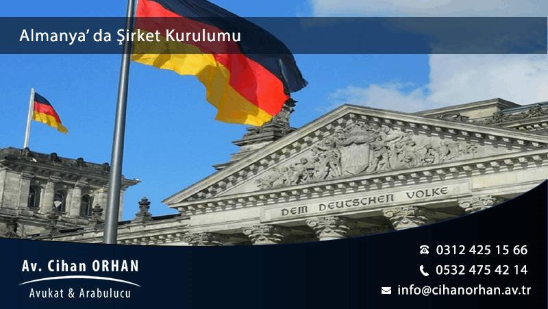 Almanya' da Şirket Kurulumu