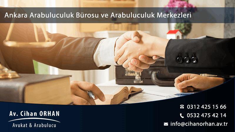 Arabulucuya Başvuru Ankara